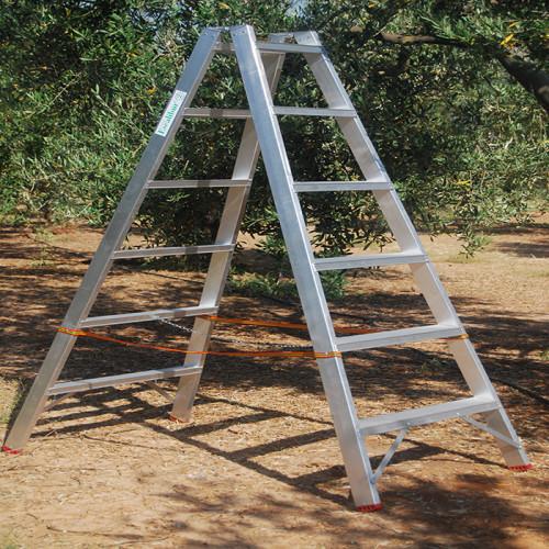 Escalera agrícola 6 peldaños