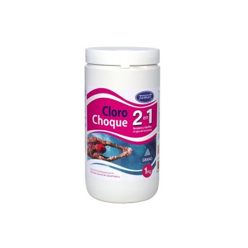 Cloro CHOQUE 2EN1 1KG
