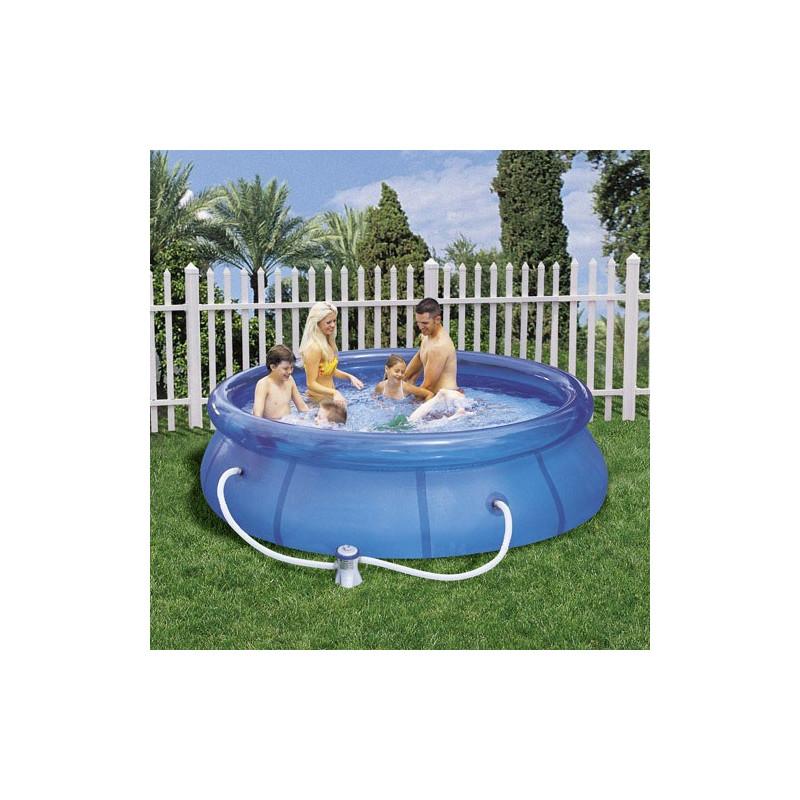 piscina redonda con hidrobomba 305x76 cm el jard n que