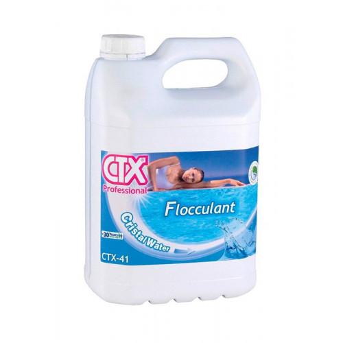 Floculante liquido CTX envase 5 litros