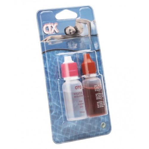 CTX Recambio de reactivos para estuche analizador OTO y phenol 15cc