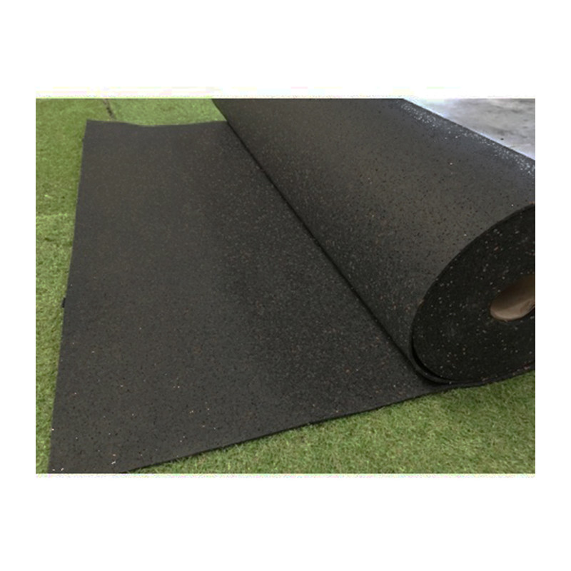 Suelo para gimnasio - Rollo completo Sport Black
