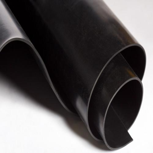 Metro lineal SBR con TEJIDO 1,40M ancho - Plancha de goma, color negro
