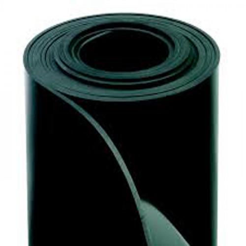 Rollo NBR 1,40M ancho - Plancha de goma nitrílica, color negro