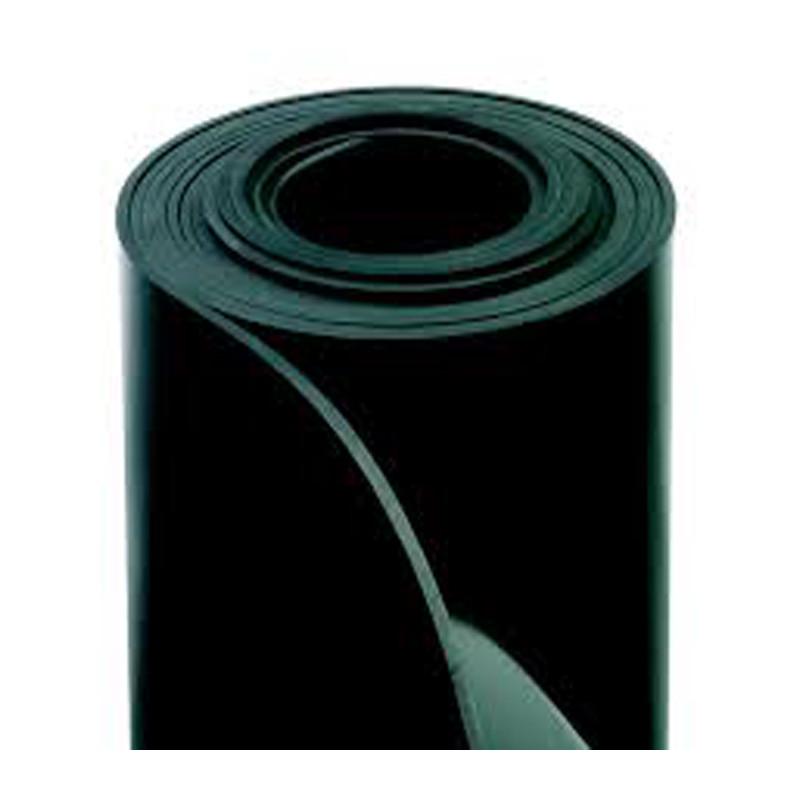 Rollo NBR 1M ancho - Plancha de goma nitrílica, color negro
