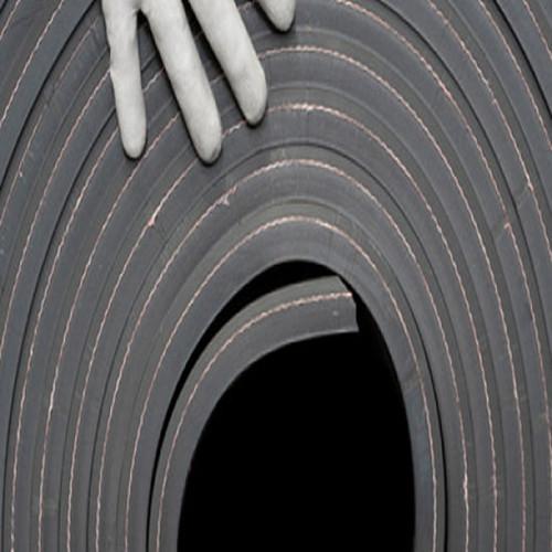 Metro lineal NBR 1,40M ancho - Plancha de goma nitrílica, color negro