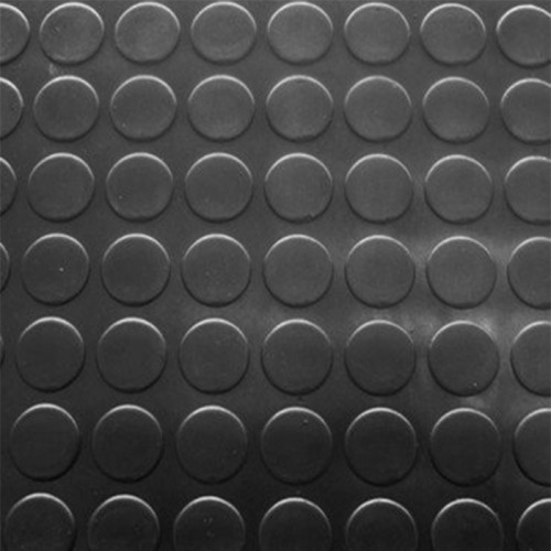 Rollo 15M Pavimento Circulo Negro - 3 milímetros de espesor