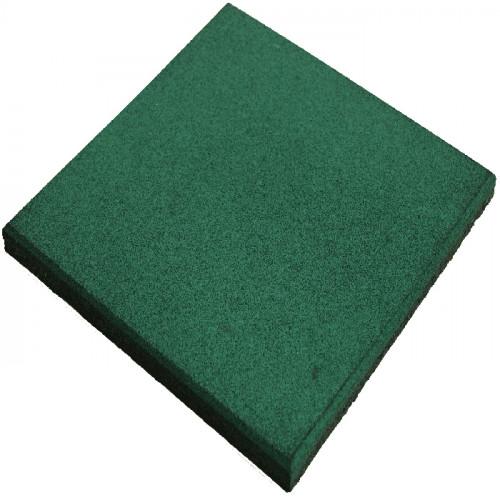 Loseta de caucho - Color verde