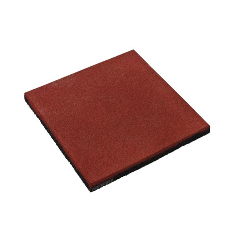 Loseta de caucho - Color rojo