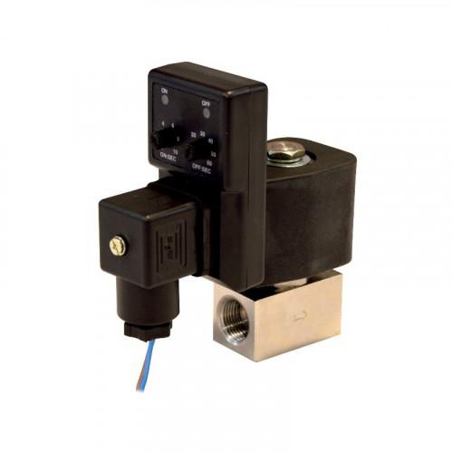 Programador y electroválvula de nebulización