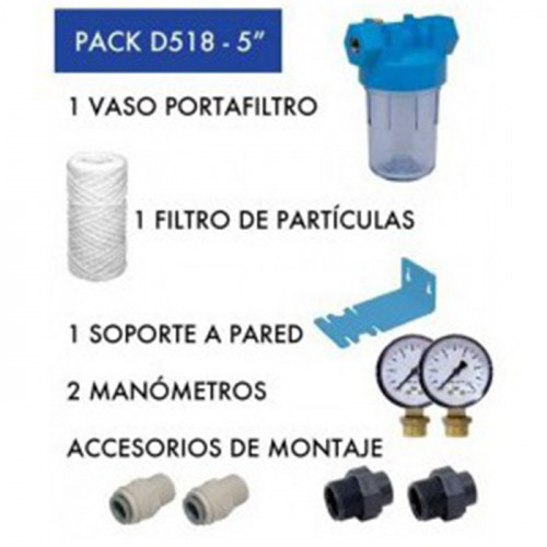 Pack de filtro D518 - DRIP AND FRESH